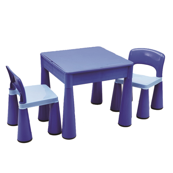 Blue Play Table Chair Set