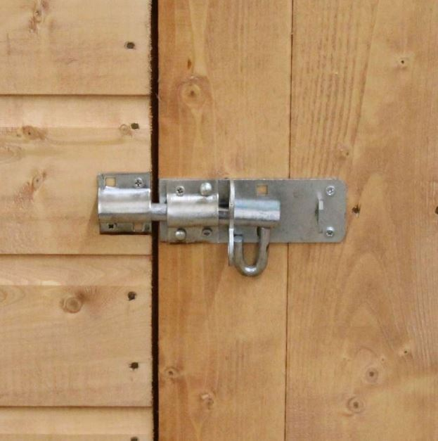 Coledale 6' x 4' Shiplap Pent Wooden Garden Shed-9402