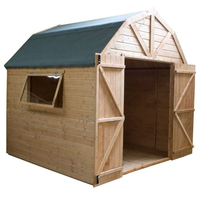 Gowan Dutch Style Tongue and Groove Timber Shed/ Workshop-9442