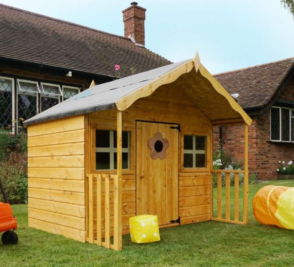 "Poppy 6' x 5'6"" Wooden Playhouse-0"