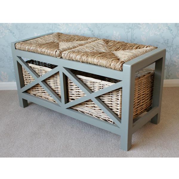 Gloucester 2 Seat Storage Bench_4