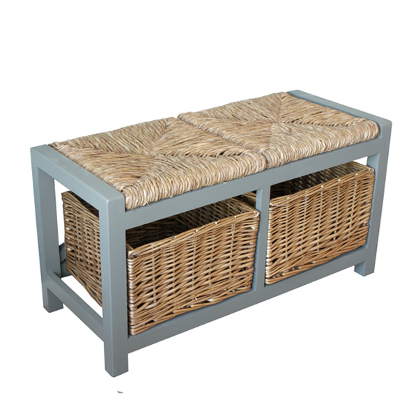 Gloucester 2 Seat Storage Bench