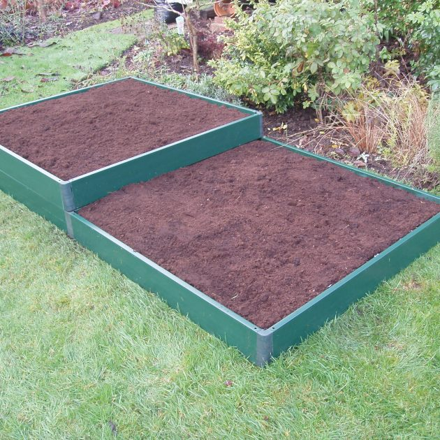 Garden Raised Bed Kit Build-It Matrix Bed UPVC-0