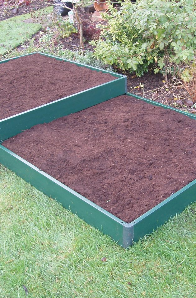 Garden Raised Bed Kit Build-It Matrix Bed UPVC-0