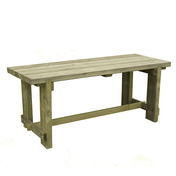 FSC Wooden 1.8 m Refectory Dining Table