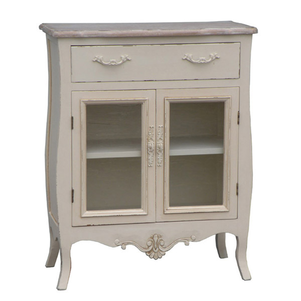 Casamoré Devon 1 Drawer 2 Glass Door Sideboard