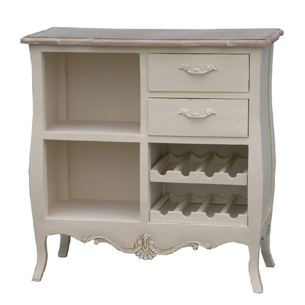 Casamoré Devon 2 Drawer 2 Shelf Wine Rack