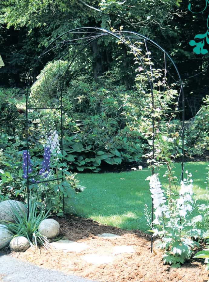 Side View of the Oregon Garden Arch