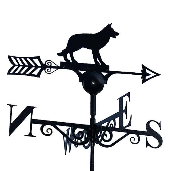 Alsatian Design Weathervane
