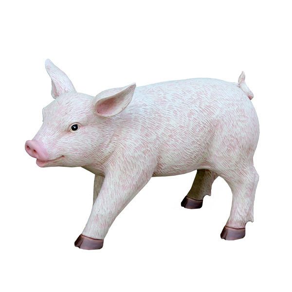 British Pig Garden Ornament_1