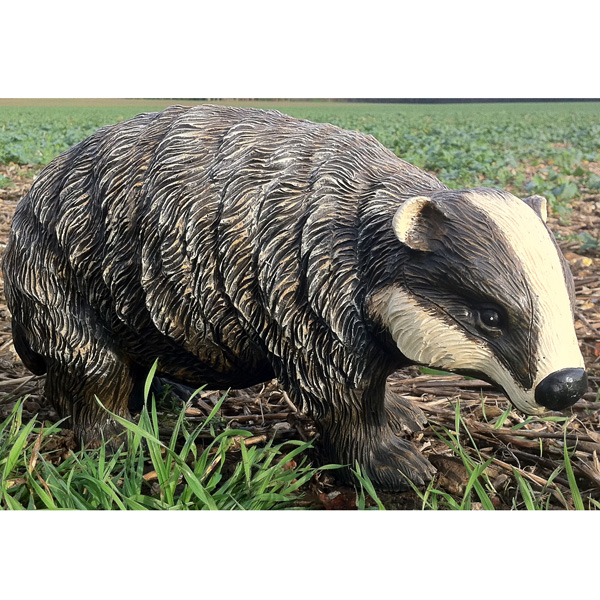 Badger Cub Garden Ornament