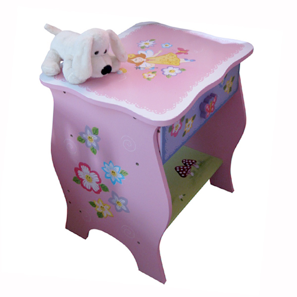 Fairy Pink Bedside Table