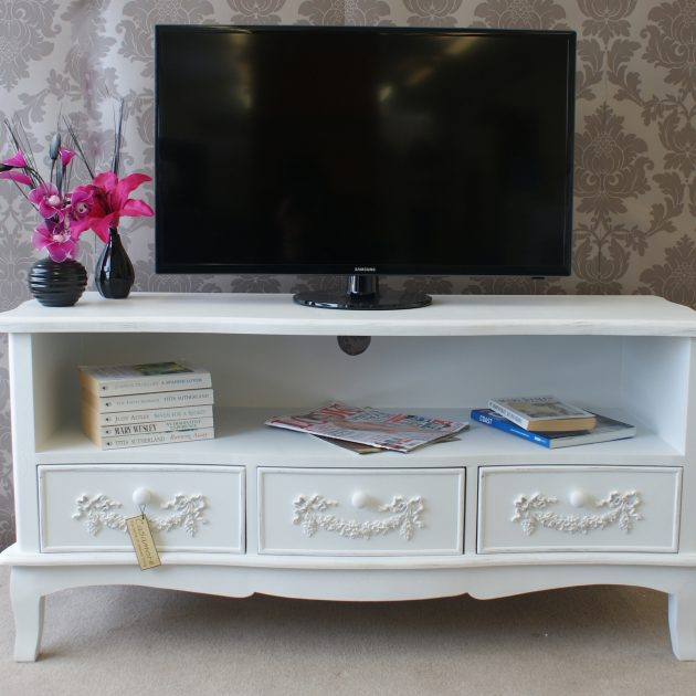 Limoges 3 Drawer Entertainment Unit-0