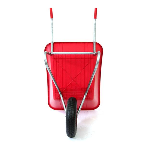 Red 85L Plastic Wheelbarrow_1