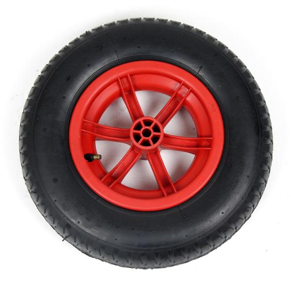 Red 85L Plastic Wheelbarrow_2