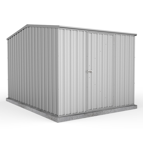 Space Saver Metal Shed 2.26m x 3m - Zinc Colour