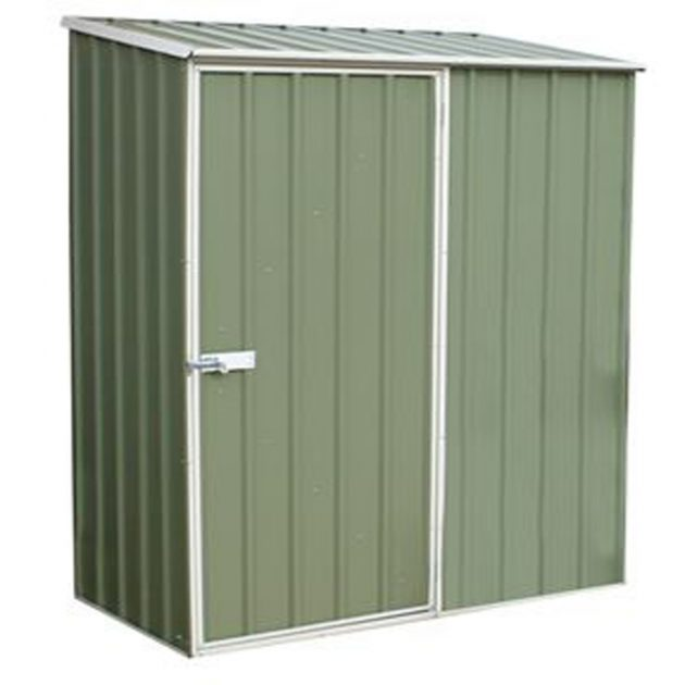 Space Saver Shed 1.52m x 0.78m - Pale Eucalyptus Colour-0