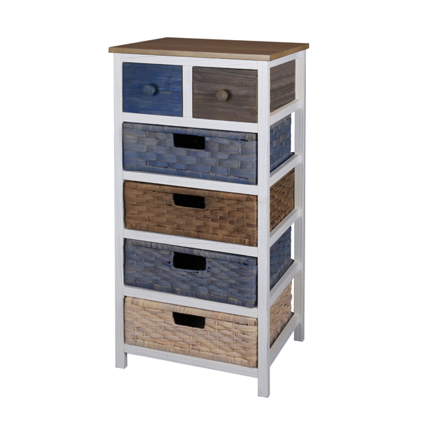 Casamoré Camber 6 Drawer Tallboy