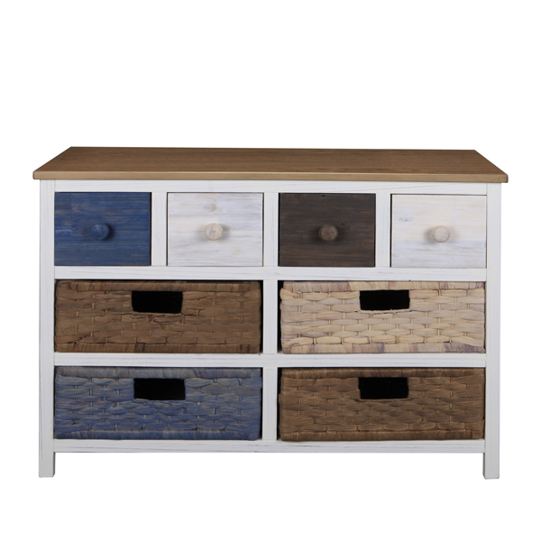 Casamoré Camber Wide 8 Drawer Storage Chest