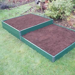 Raised Matrix 3 x 1m Garden Bed-0