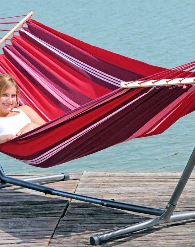 Summer Set Hammock with Metal Frame-0