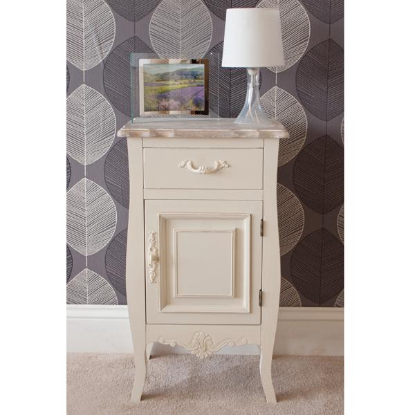 Casamoré Devon 1 Door 1 Drawer Bedside Cabinet_1