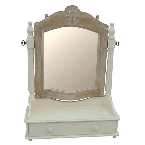 Casamoré Devon Mirror with 2 Drawers