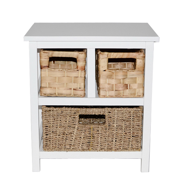 Casamoré Camber Natural 3 Drawer Storage Chest