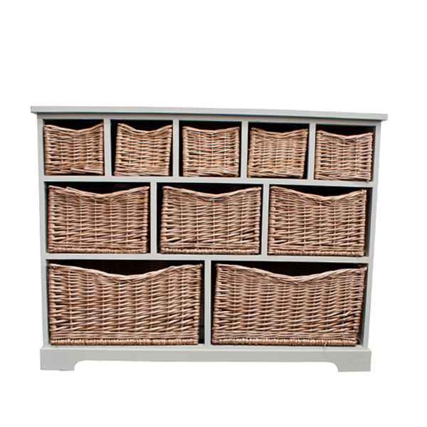 Casamoré Gloucester 10 Basket Storage Chest