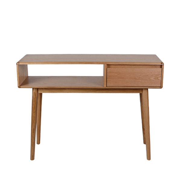 Casamoré Retro Oak Console Table