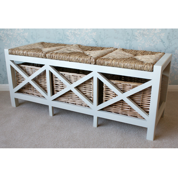 Gloucester 3 Seater Storage Bench-6074