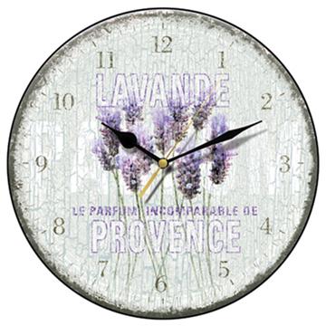 Lavande de Provence Wall Clock-0