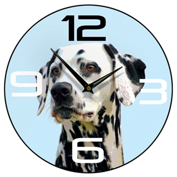 Dalmatian Wall Clock Blue-0