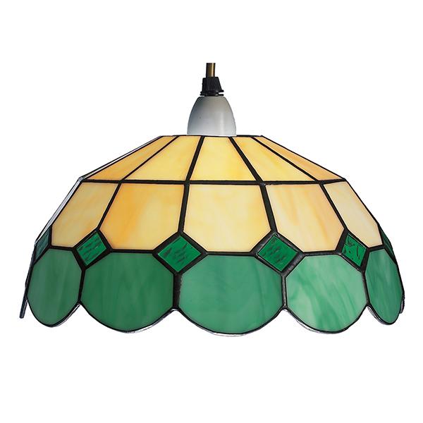 Beige Green Bistro Light Shade