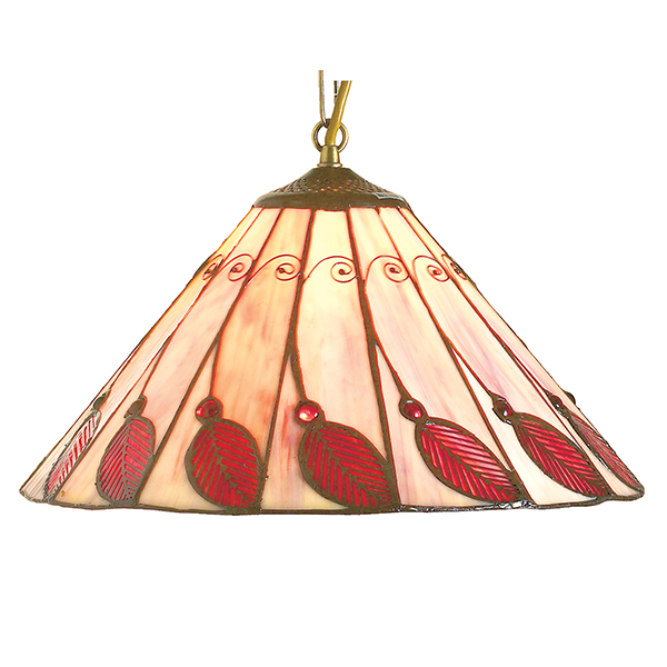 Red Leaf Peach Light Shade