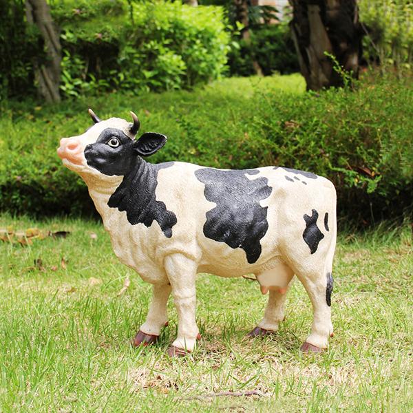Dairy Cow Garden Ornament