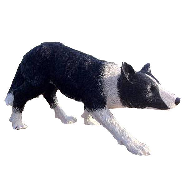 Working Sheep Dog Garden Ornament