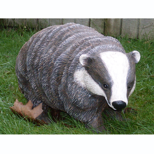 Badger Garden Ornament