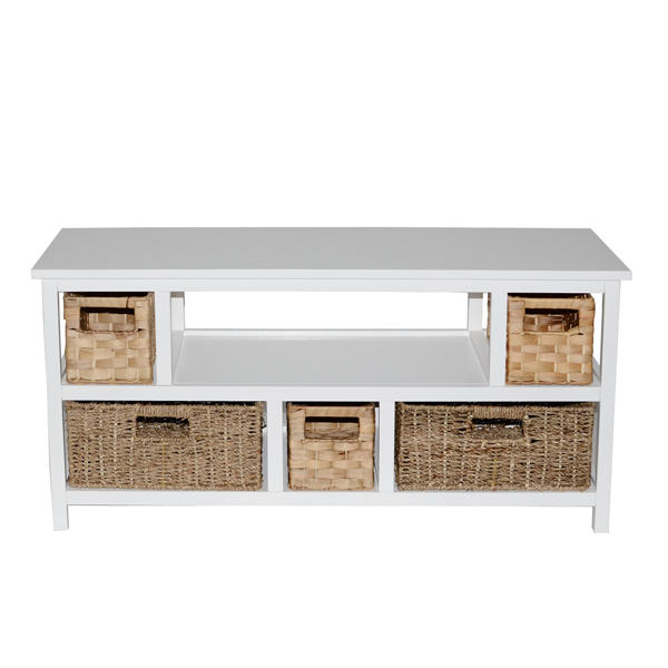 Casamoré Camber Natural 5 Drawer TV Unit