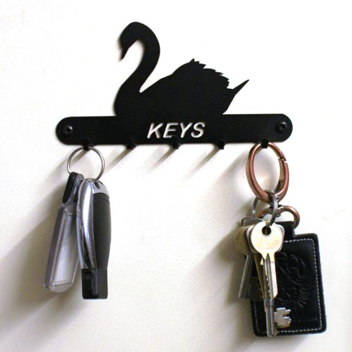 Swan Key Holder