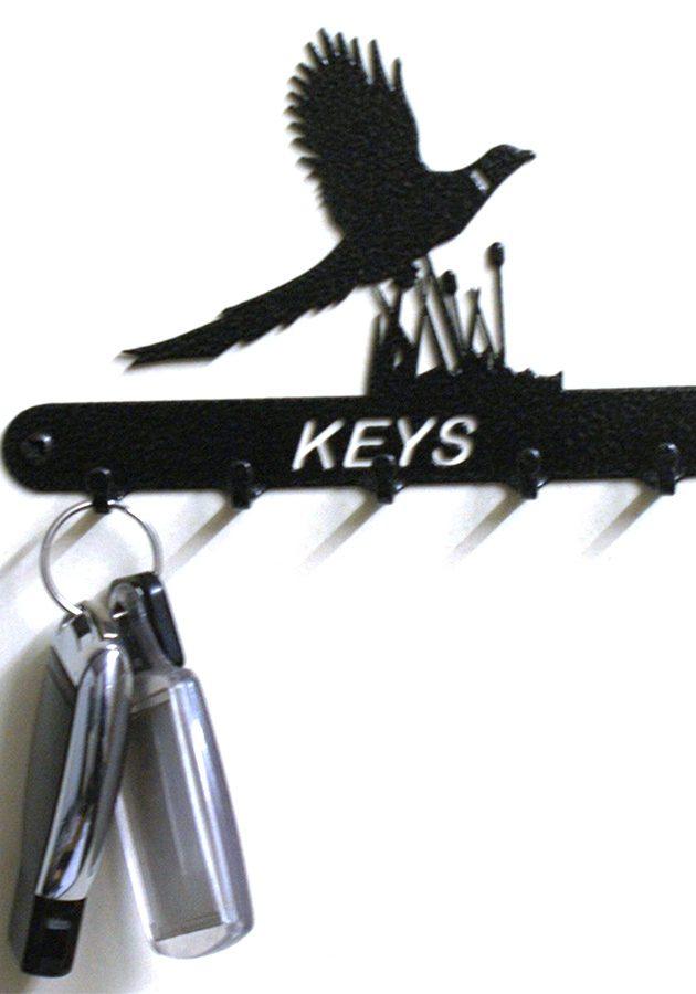 Pheasant Key Holder
