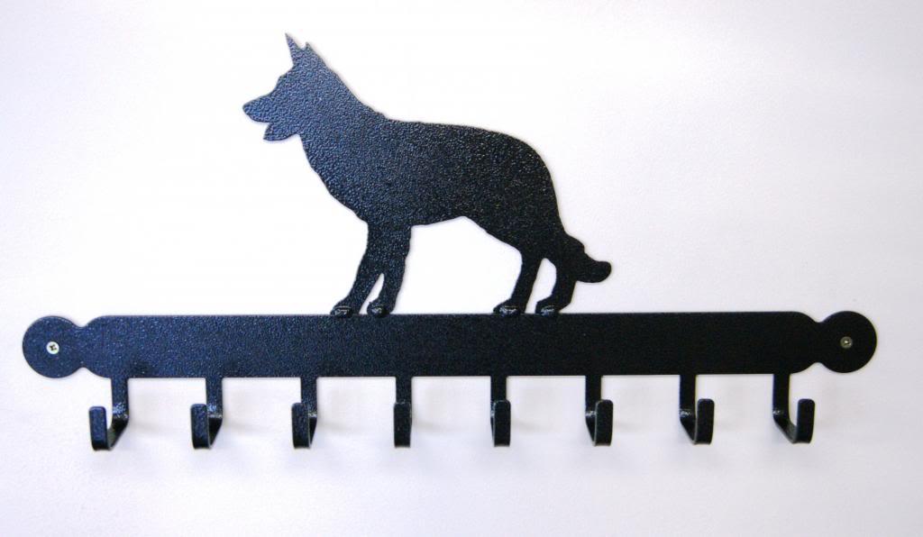 Alsatian Dog Tool Rack-0