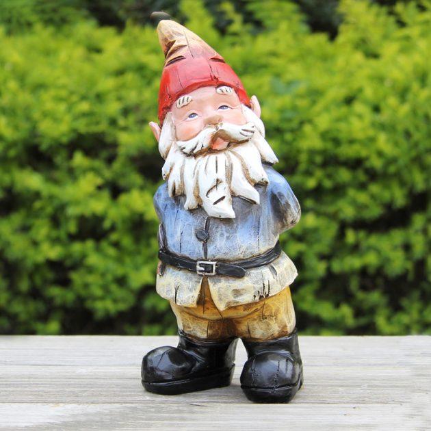 Curious Gnome Garden Ornament-0