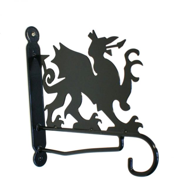 Welsh Dragon Wall Bracket-0