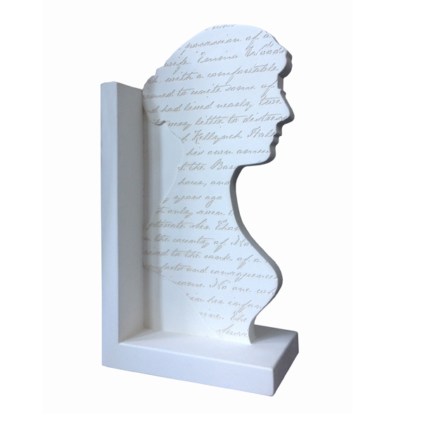 Jane Austen Engraved Single Bookend