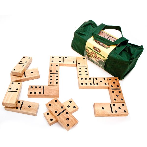 Wooden Garden Dominoes