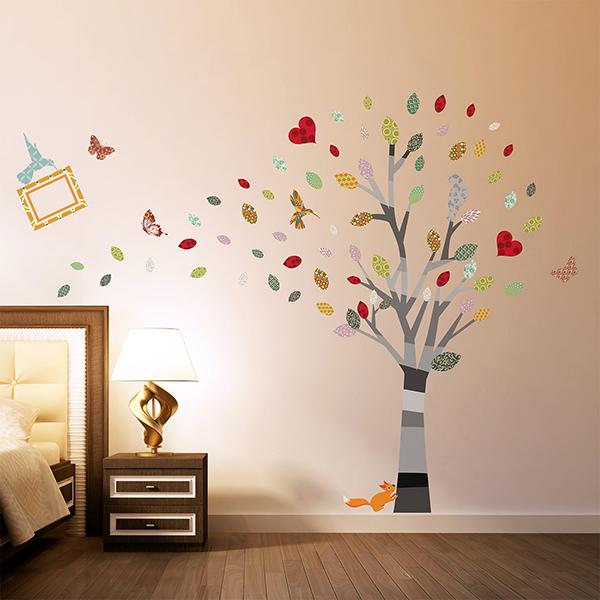 Photo Frame Tree Wall Sticker