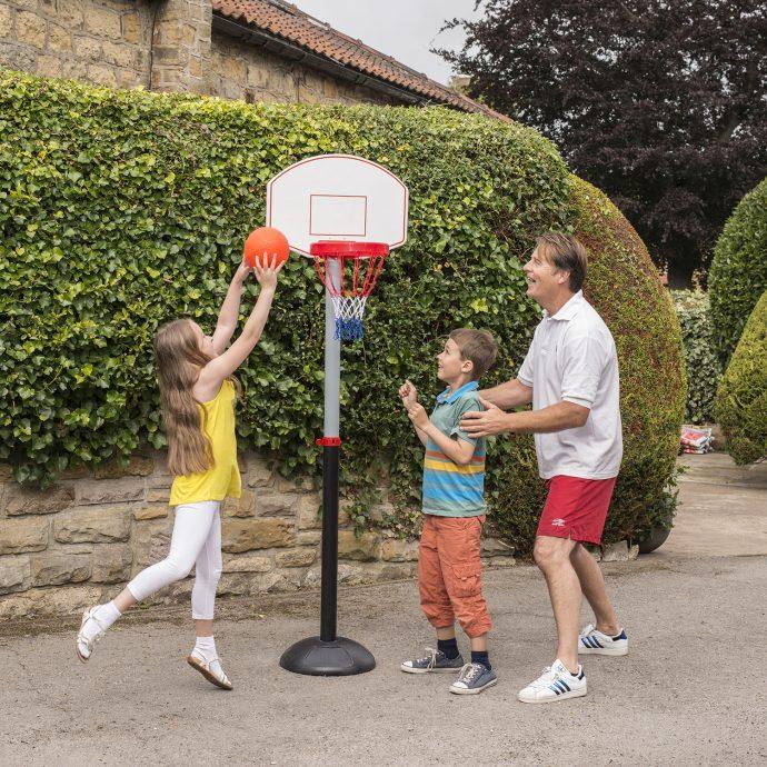 Adjustable Basketball Set-7481