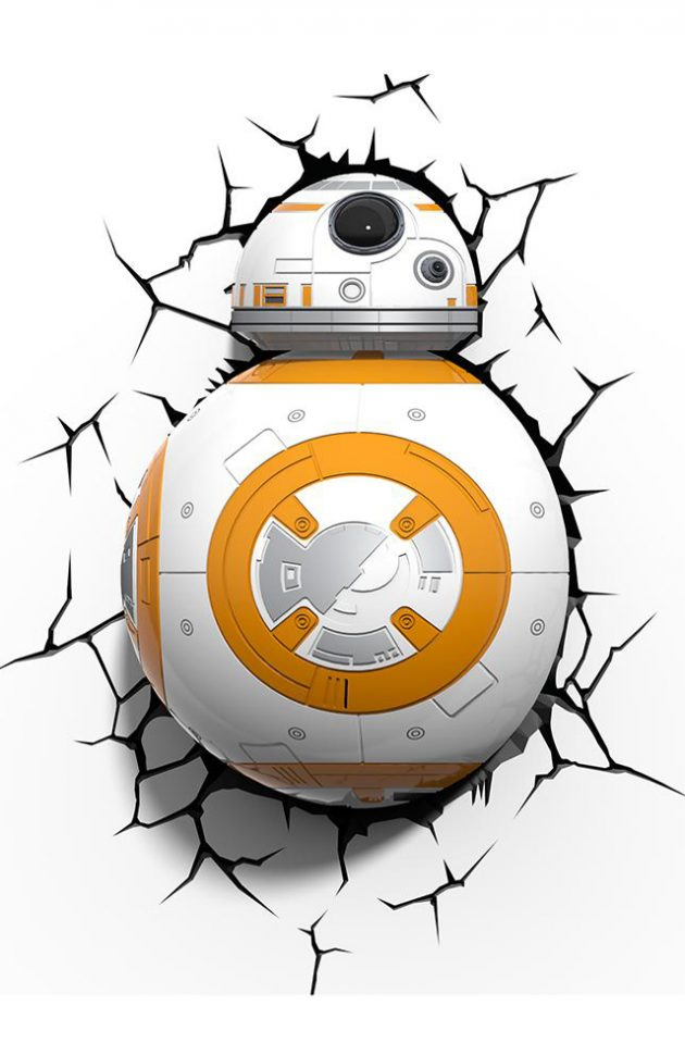 Star Wars BB-8 Wall Light-0