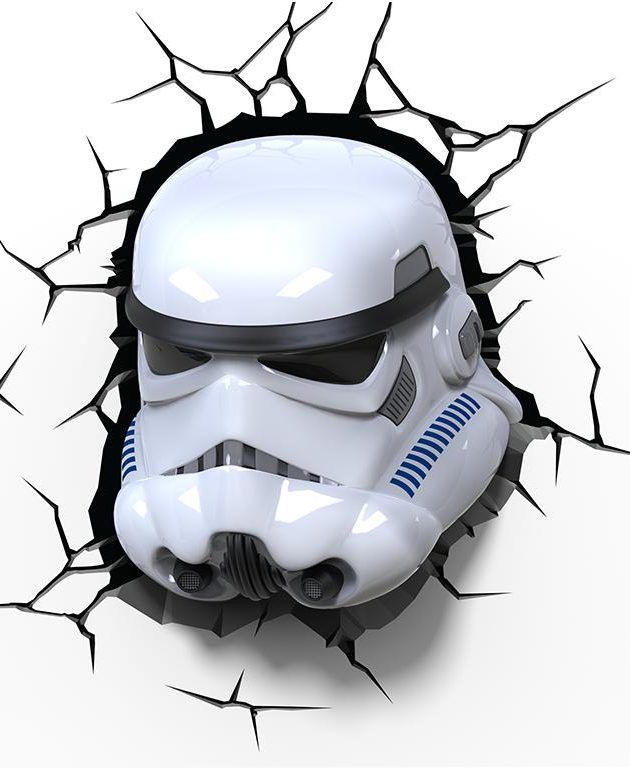 Star Wars Stormtrooper Wall Light-0